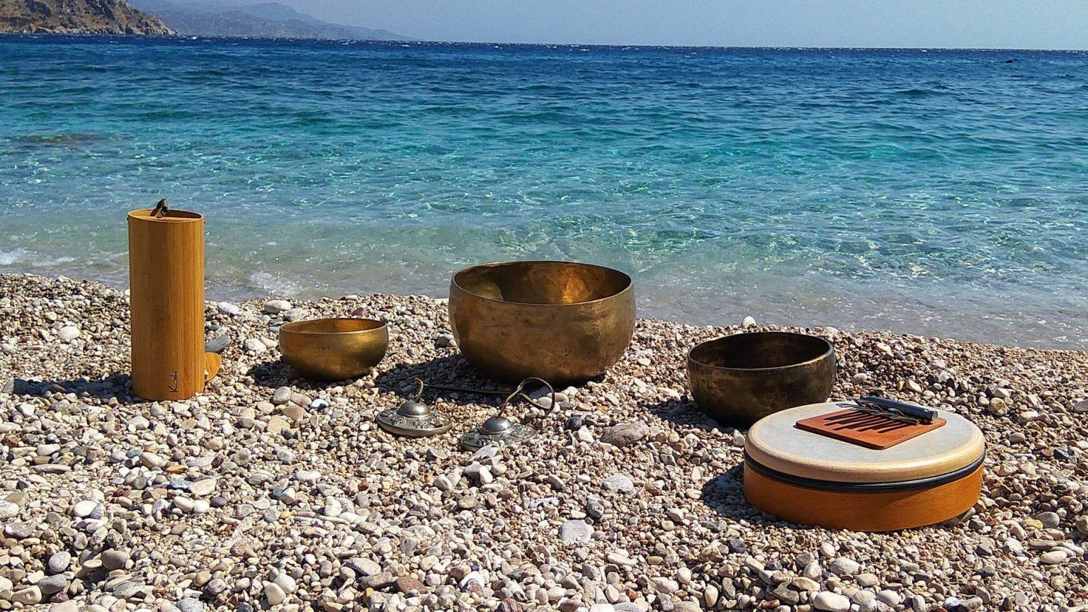 Hangszrek a tengerparton